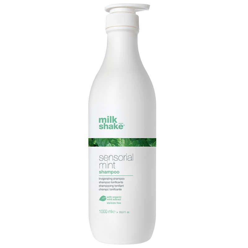 milk shake sensorial mint shampoo 1000 ml.