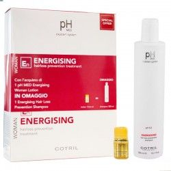Kit pH MED Energising Woman eficaz anticaída de Cotril