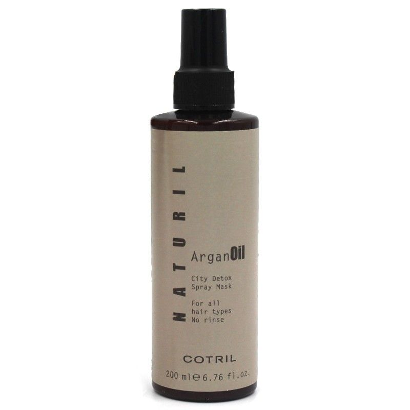 city detox spray mask natural argan oil